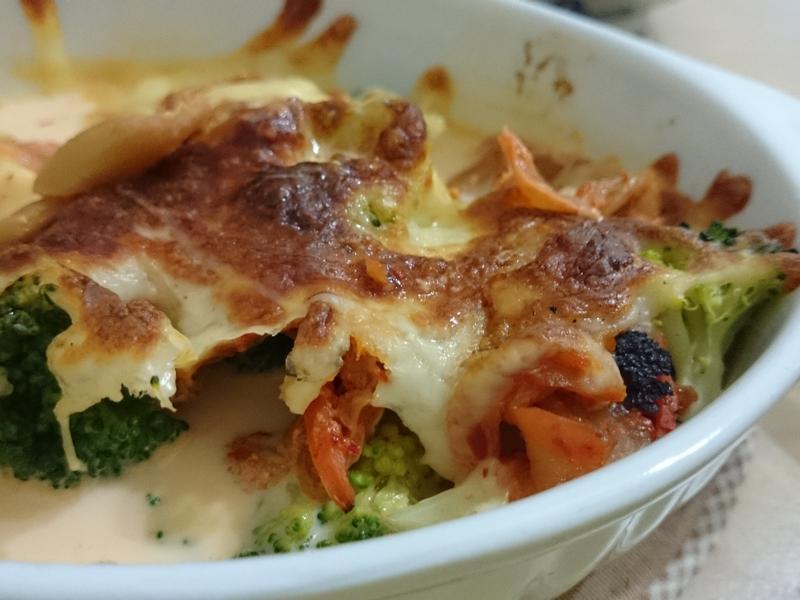焗烤泡菜花椰菜