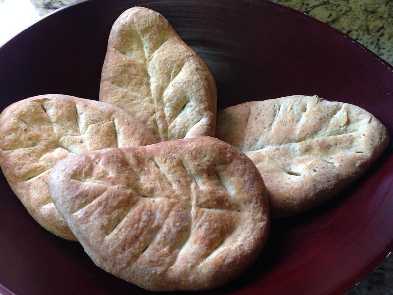 香草面具葉型麵包❤!!!