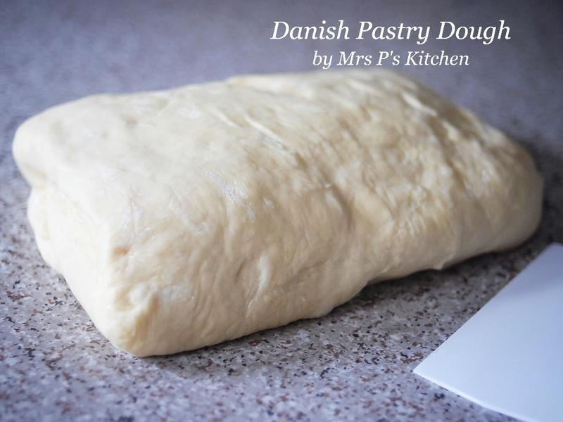 丹麥酥麵包麵糰