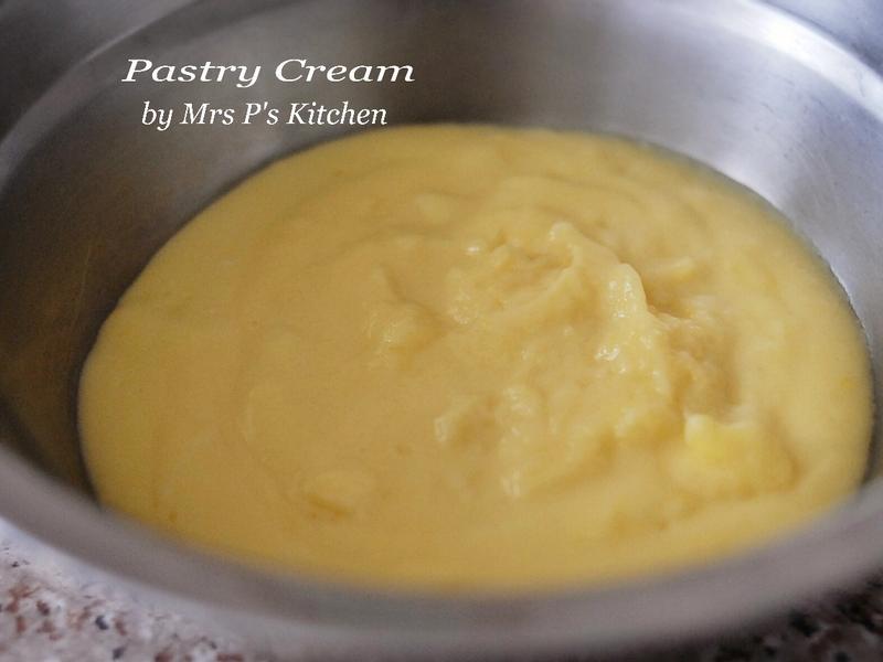 自製卡士達醬Pastry Cream