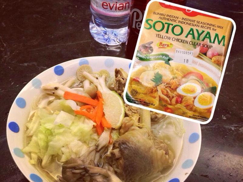 印尼雞湯+麵