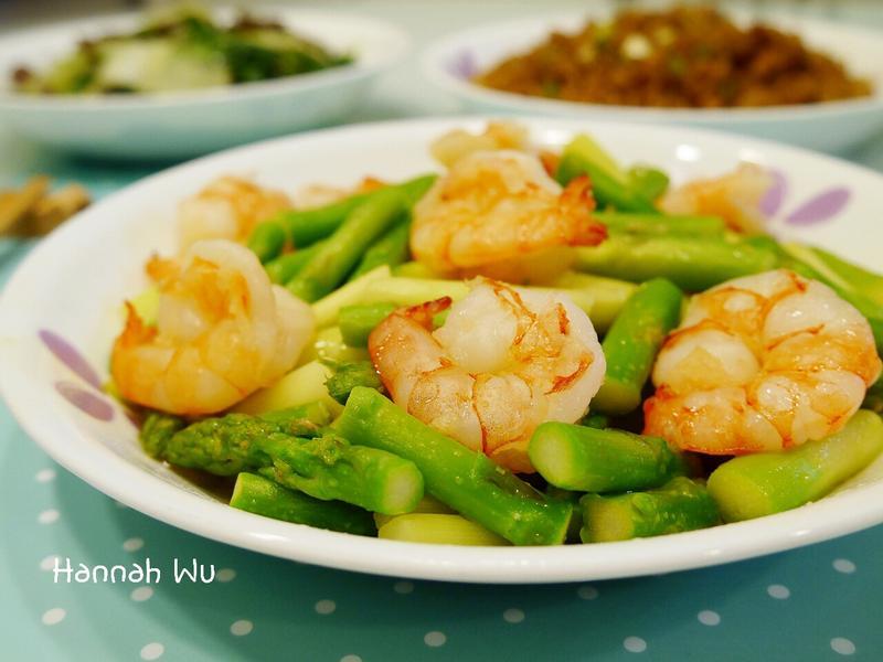 蘆筍清炒鮮蝦