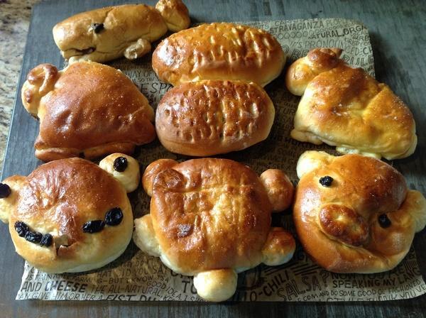 多種可愛動物照型麵包❤!!!