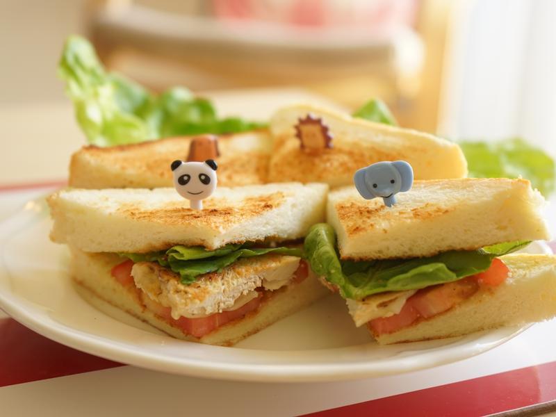 田園蔬菜三明治