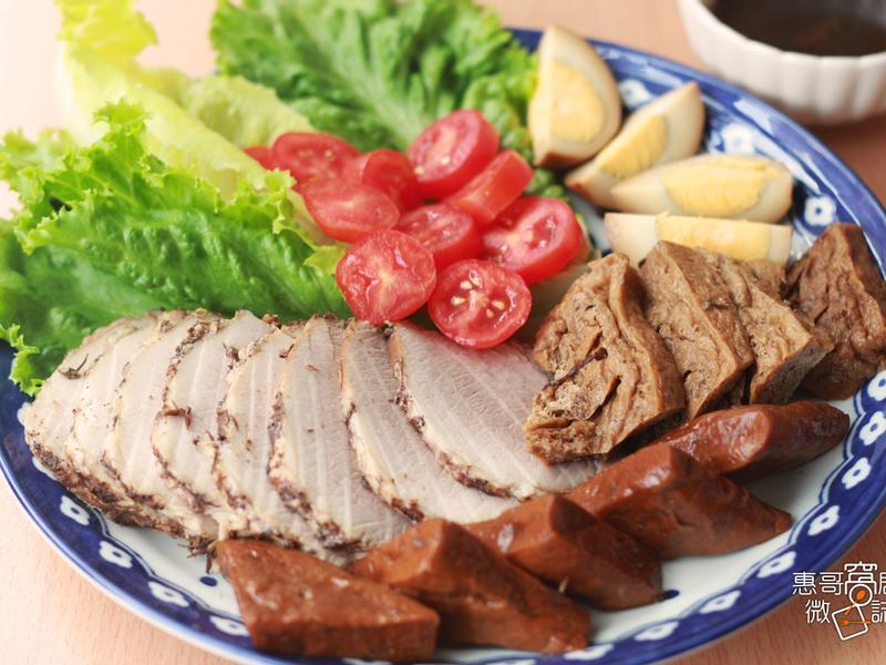 輕鬆作宴客菜''茶香豬肉滷味''