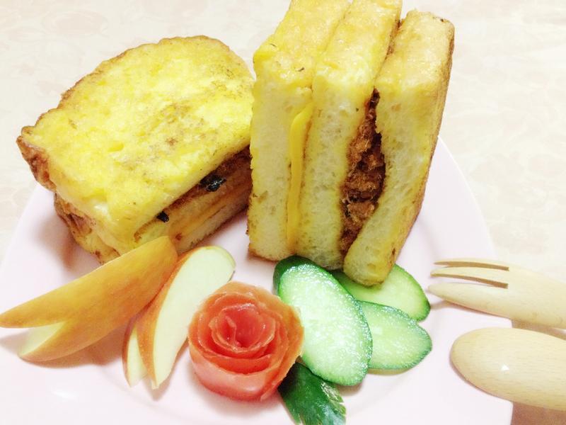 法式土司三明治-台北必吃10大早點