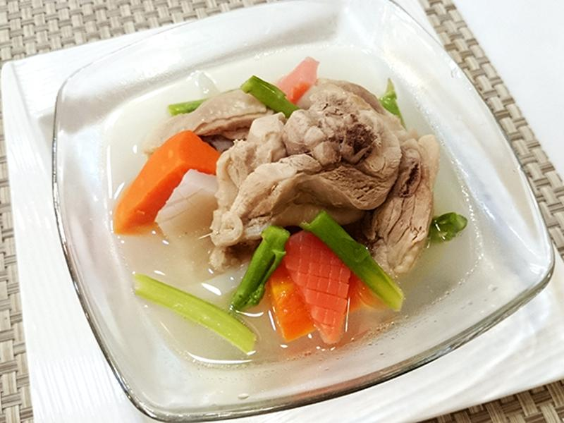 有心食譜:蘆筍蒟蒻雞湯