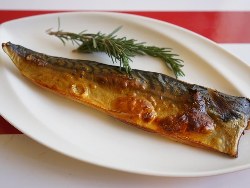超簡易烤鯖魚