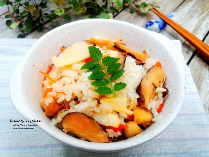 日式竹筍炊拌拌飯