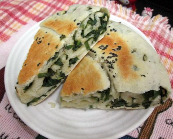 蔥花大餅(電鍋做餅)