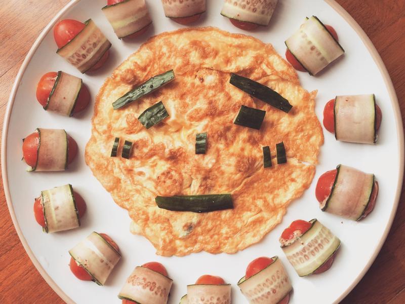 微笑開心蛋煎