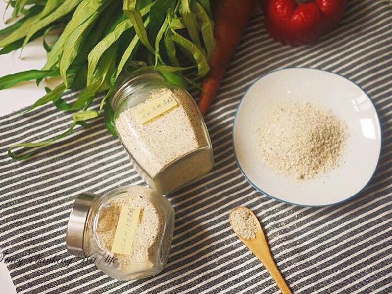 自製天然健康的調味料(味精)