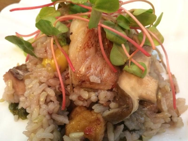 五色米鯛魚斧飯(夏洛蒂)