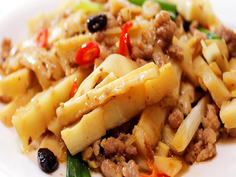 【厚生廚房】豆豉鹹香桂竹筍
