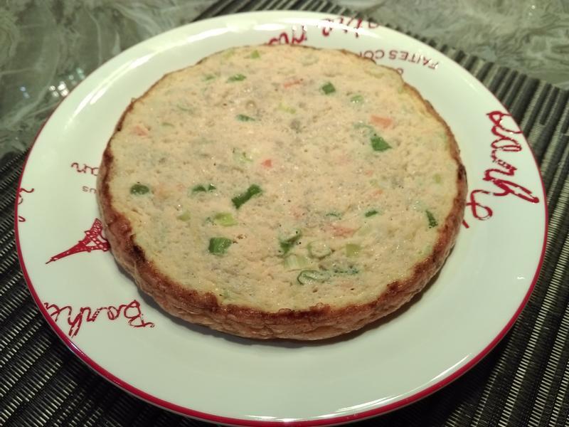 蔬菜絞肉烘蛋