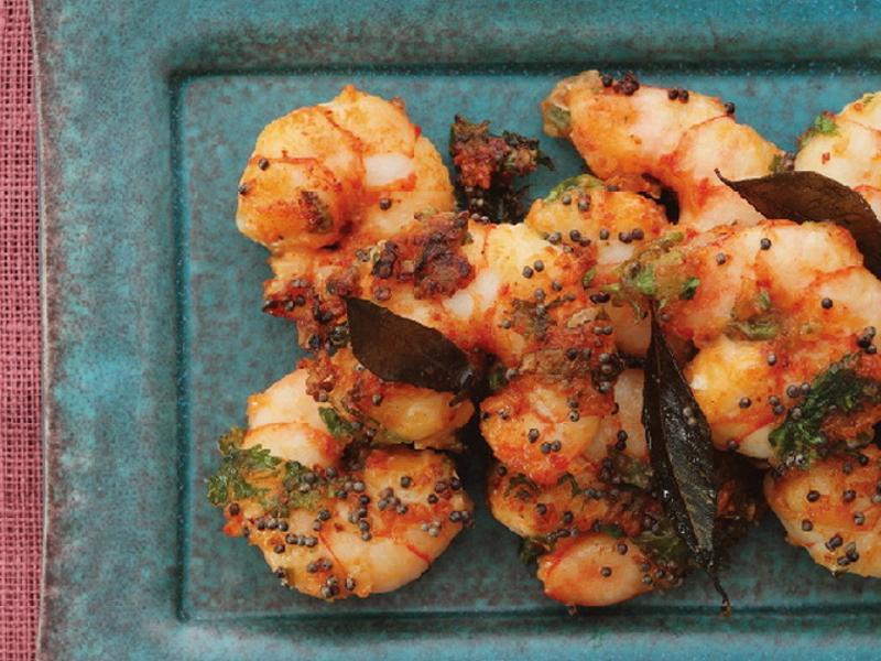 東販小食堂:健康的印度料理 香料蝦