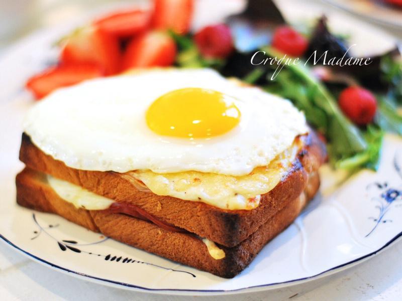 法式火腿蛋吐司~庫克太太三明治