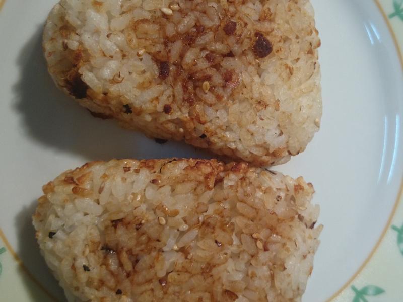 烤飯糰 (氣炸鍋)