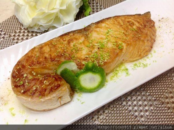 椒塩鮭魚排