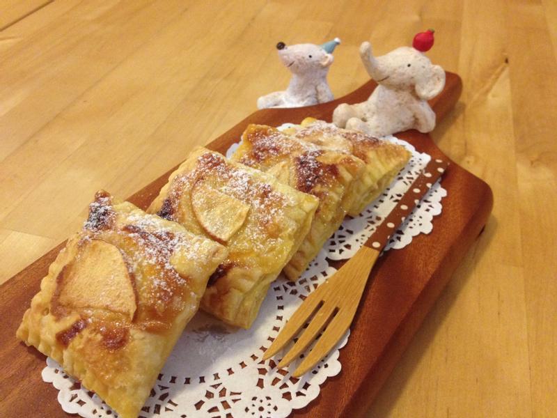 【小李子❤幼幼點心時間】蜂蜜柚子蘋果派