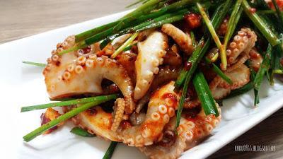 涼拌小章魚쭈꾸미무침