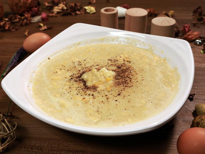 型男主廚詹姆士中式料理 雞蓉玉米湯