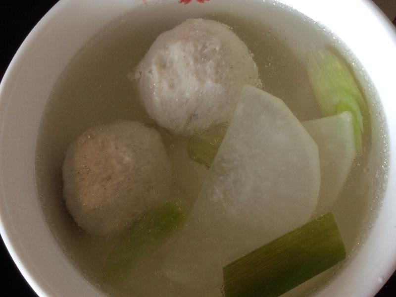 蘿蔔貢丸湯