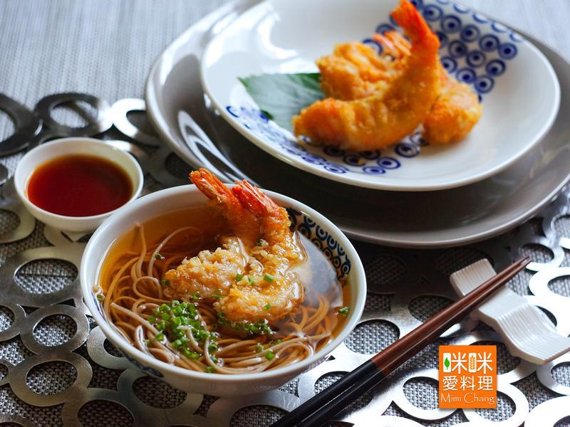 炸蝦天婦羅蕎麥麵【HOLA幸福食堂】