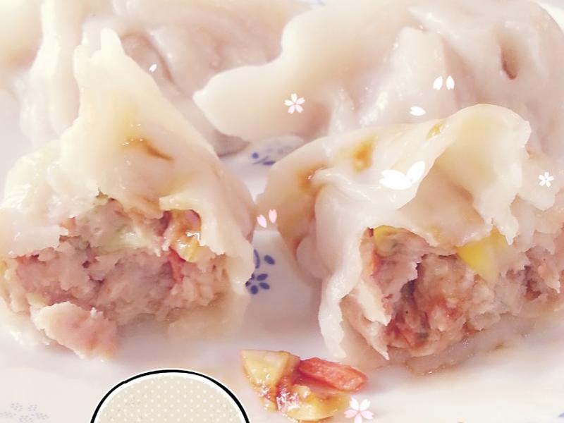 魚肉手工水餃
