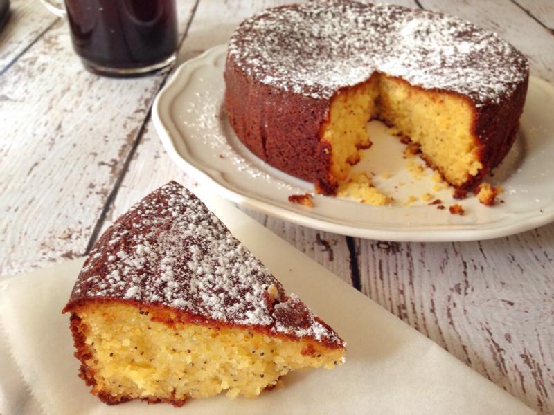 檸檬罌粟籽蛋糕
