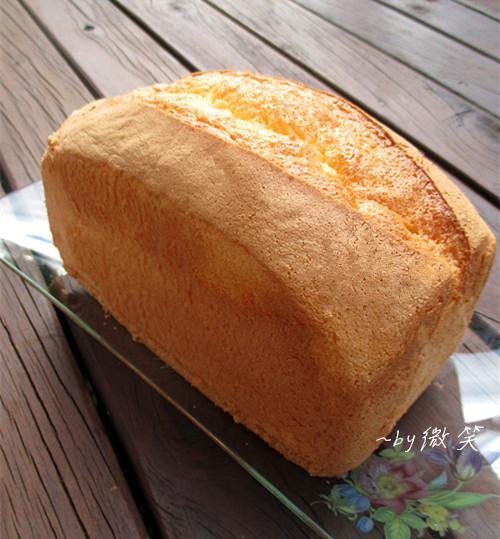 軟綿果香~香橙海綿蛋糕