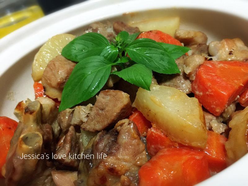 味增蘿蔔燒肉