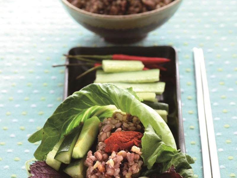 韓式五穀飯包