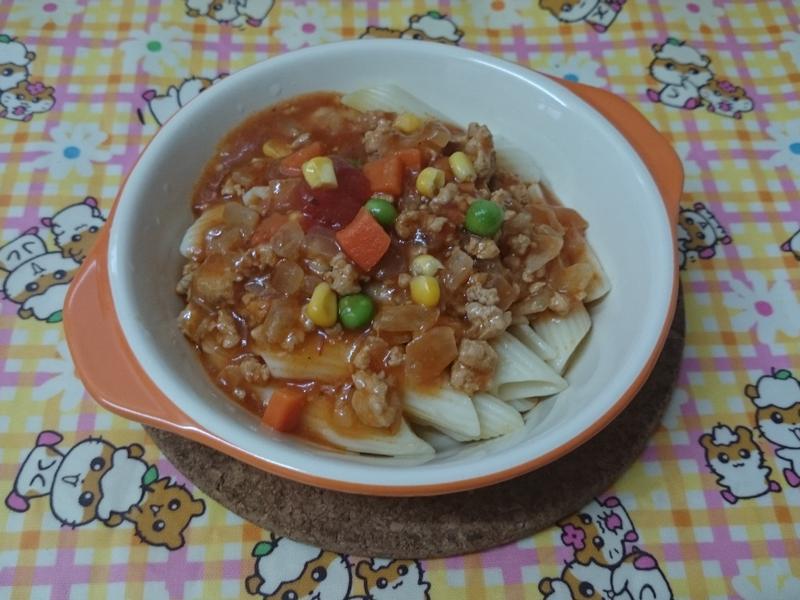 茄汁肉醬通心粉
