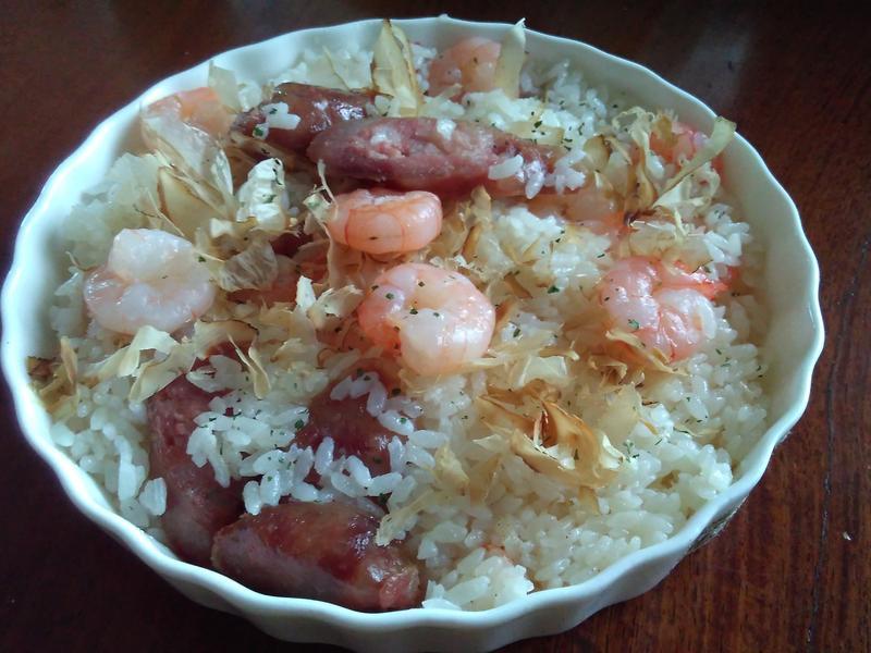香腸蝦仁飯