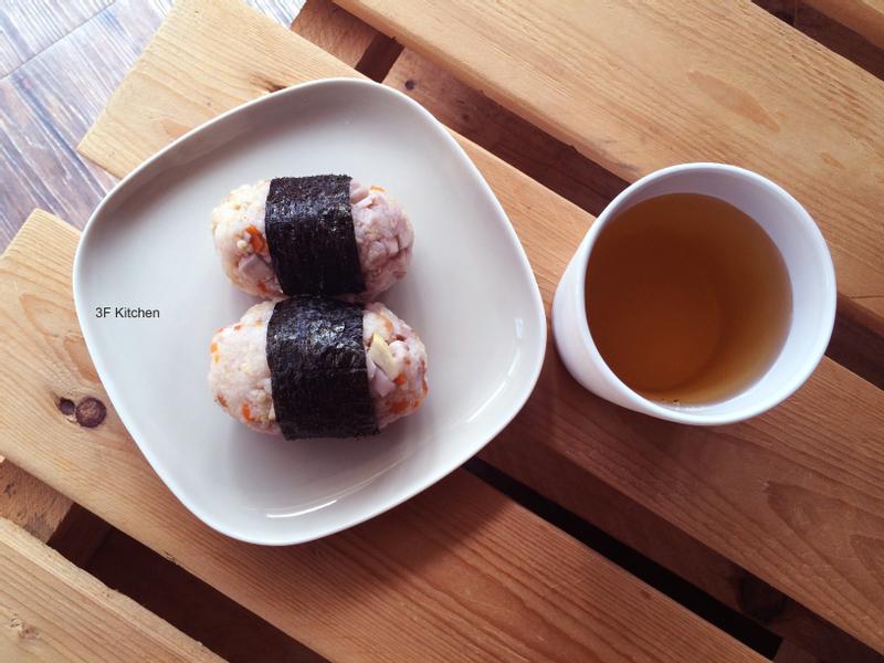 高纖炊飯飯糰+冷泡烏龍茶 / 全素