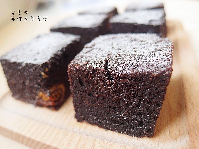 電鍋零失敗♡布朗尼巧克力蛋糕