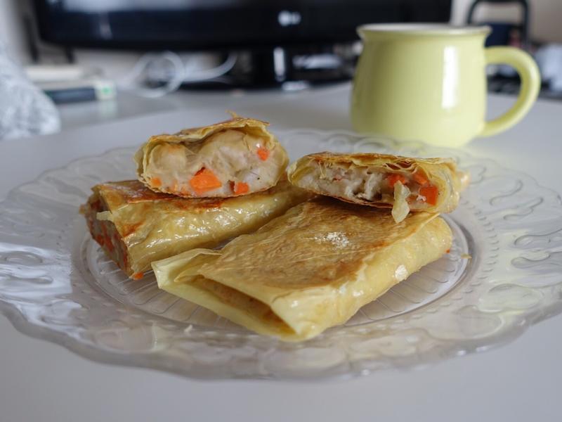 素芋蓉腐皮卷