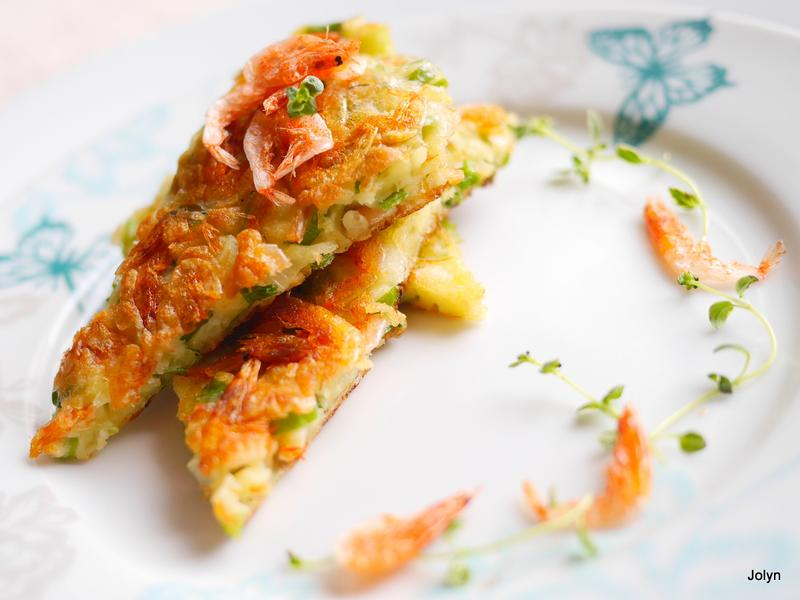❤海之味櫻花蝦香蔥煎餅❤