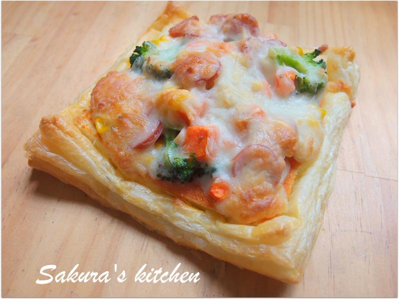 ♥我的手作料理♥ 起酥比薩