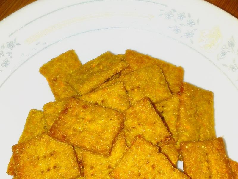 無奶油低糖-全麥紅蘿蔔餅乾