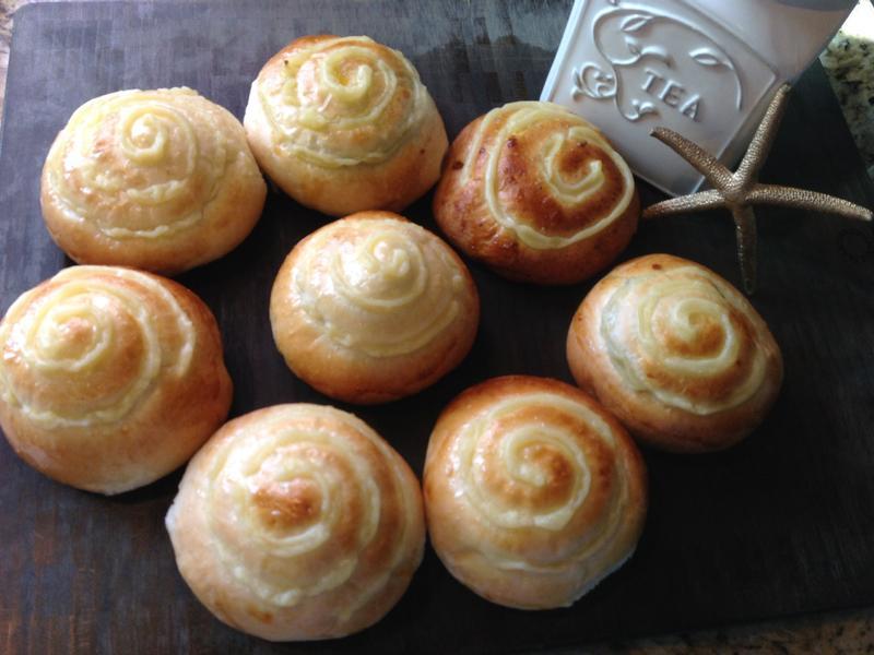 Custard Bread-卡士達麵包❤