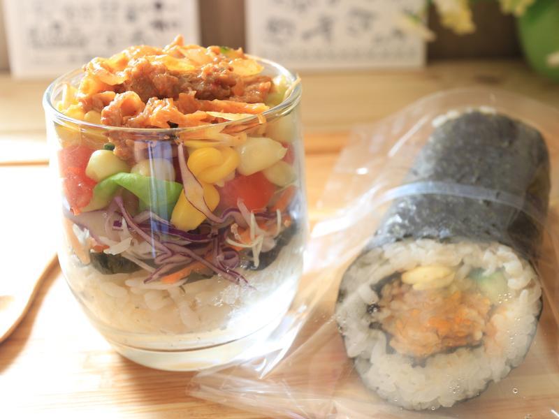 韓式烤肉飯沙拉_小七食堂