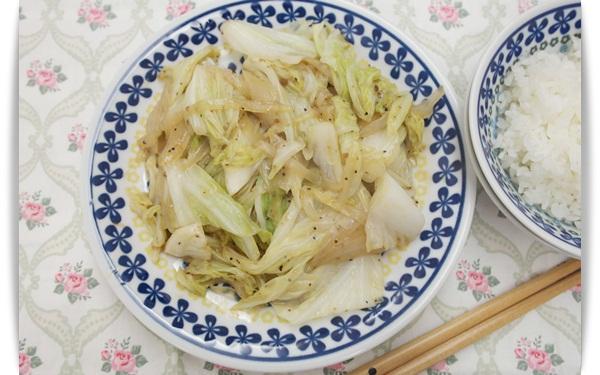 奶油黑胡椒高麗菜-鐵板燒料理必點!!