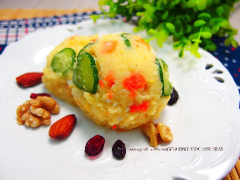 清爽版馬鈴薯蛋沙拉
