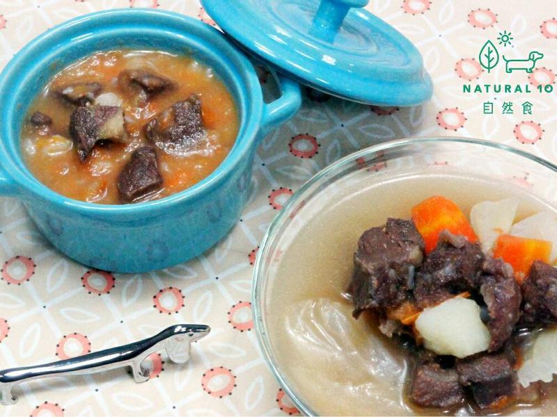寵物鮮食食譜>健康蔬菜牛肉湯,狗貓鮮食
