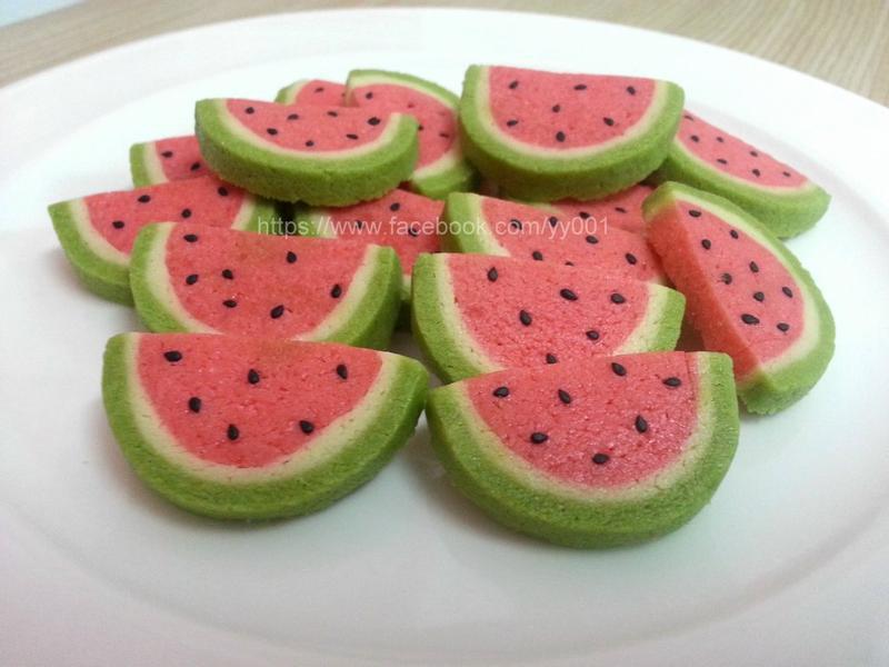 西瓜 造型 餅乾