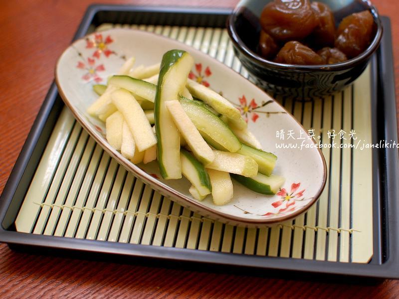 梅醋涼拌水果小黃瓜