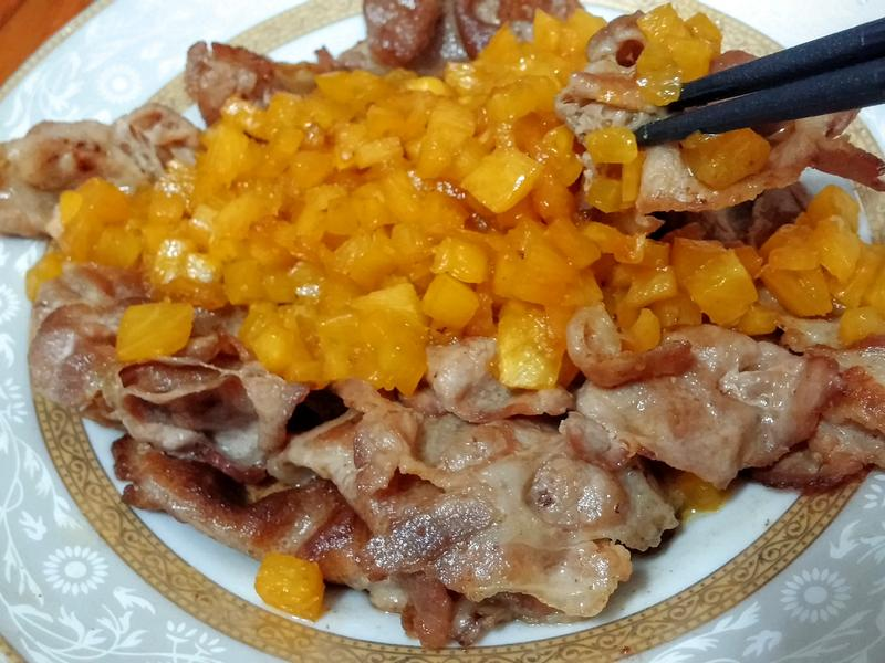 奶油鳳梨燒肉