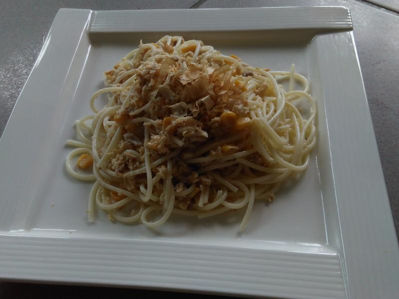 義大利拌魚肉麵